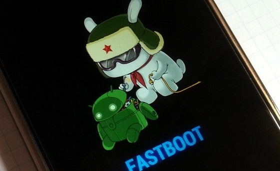 Fastboot Mode of Xiaomi